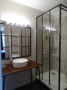 Salle de bain Chambre la lautrec Relais d'Arzac Maison & Chambre d'hôte Tarn 81